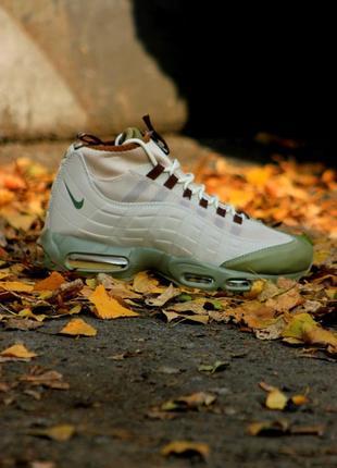 "40-45 мужские ботинки осень зима nike air max sneakerboot 95 ""..."