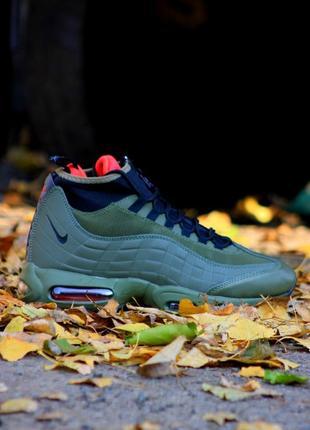 40-45 мужские ботинки осень зима nike air max sneakerboot 95 h...