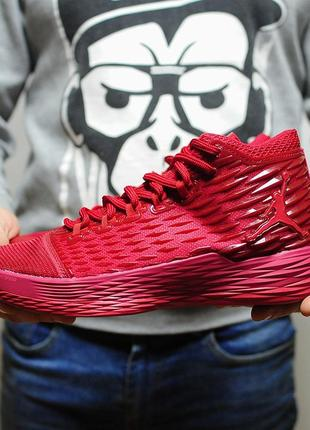 Nike air jordan melo 13 red мужские кроссовки красного яркого ...