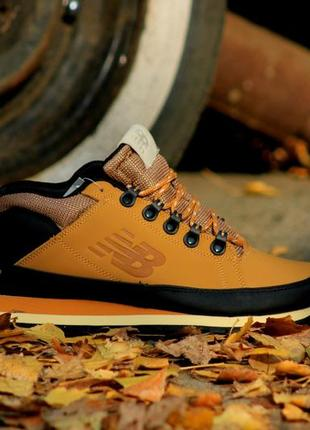 New balance 754 brown коричневого цвета теплые ботинки сапоги ...