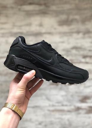Шикарные мужские кроссовки nike air max 90 black