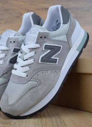 Шикарные женские кроссовки new balance 995 grey