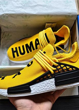Мужские кроссовки  pharrell williams nmd human race yellow""