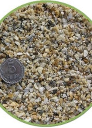Nechay ZOO грунт белый мелкий (мрамор) 2-5мм, 10кг