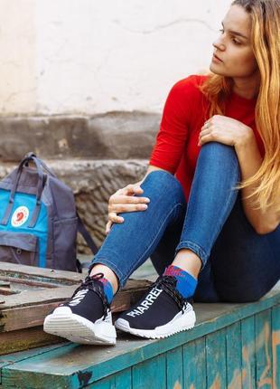 Шикарные женские кроссовки adidas nmd human race