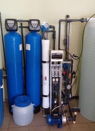 Замена фильтров (картриджей) в системах очистки воды