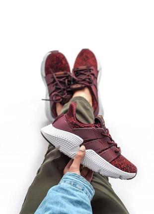 Женские кроссовки adidas prophere bordo