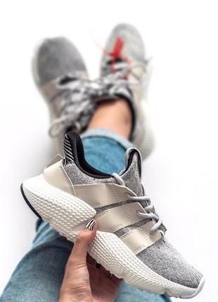 Шикарные женские кроссовки adidas prophere grey