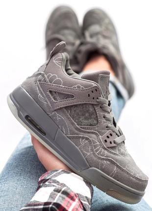 Nike air jordan retro 4 grey