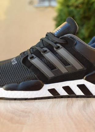 Adidas equipment 91/18 чёрные на белой