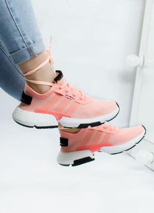 Шикарные женские кроссовки adidas pink boost