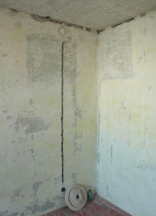Штробление стен без пыли. Высверливание отв. для подрозетников.
