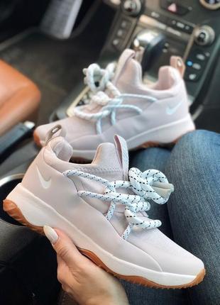 Шикарные женские кроссовки nike city loop rose