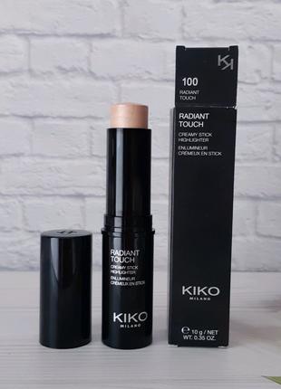 Radiant touch creamy stick highlighter хайлайтер в стике kiko ...
