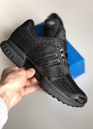 Шикарные мужские кроссовки adidas climacool 1 black