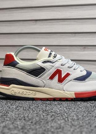 Шикарные мужские кроссовки new balance 998 серые