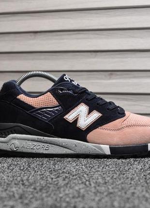 Шикарные женские кроссовки new balance 998 black pink чёрные с...