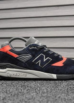 Шикарные мужские кроссовки new balance 998 синие