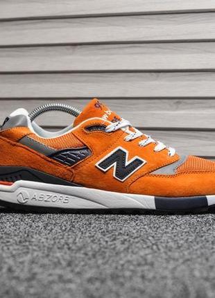 Шикарные мужские кроссовки new balance 998