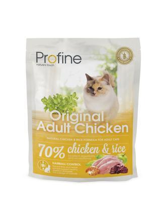 Сухой корм Profine Original для котов и кошек с курицей 300г