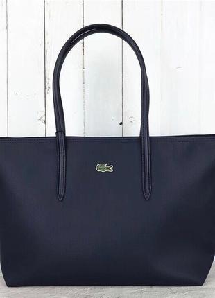 Женская сумка lacoste синяя