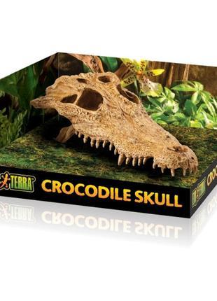 Hagen Exo Terra убежище - декор для террариума Череп крокодила