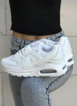 Шикарные женские кроссовки nike air max 90 white белые