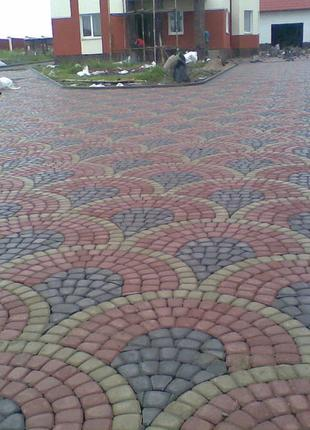 Укладка тротуарной плитки ФЭМ