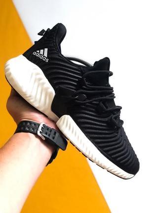 Шикарные мужские кроссовки adidas alphabounce instinct black w...