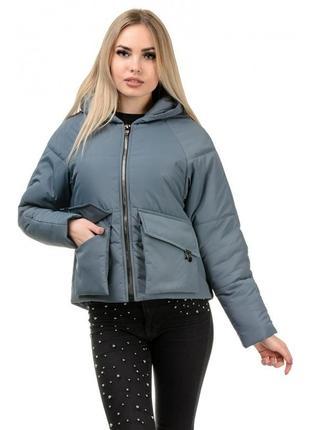 Шикарная женская куртка осеняя