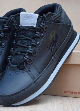 Шикарные женские кроссовки new balance 754 черные