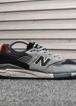 Шикарные кроссовки new balance 998 gray black