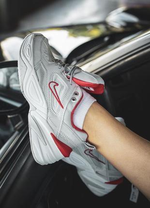 Шикарные женские кроссовки nike m2k tekno рефлективные