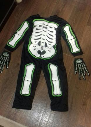 Костюм карнавальный с перчатками
