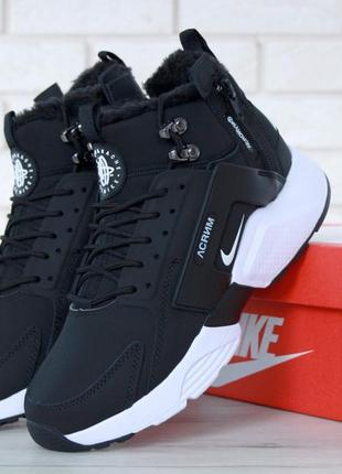 Шикарные женские ботинки nike huarache x acronym city winter 😃...