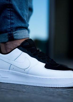Шикарные мужские кроссовки nike air force 1 low black white 😃 ...