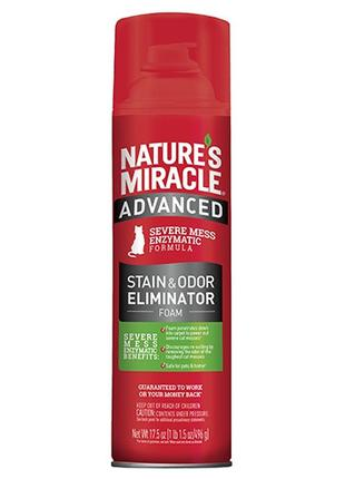 8in1 Natures Miracle JFC Advanced Stain and Odor Remover Foam ...