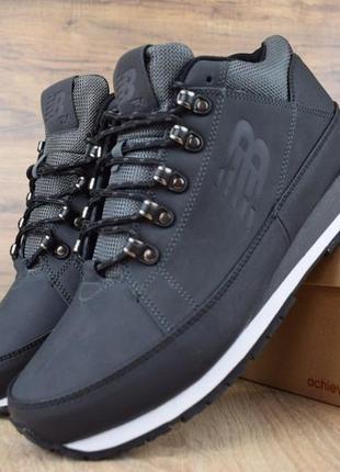 Шикарные мужские кроссовки ботинки new balance 754 тёмно серые...