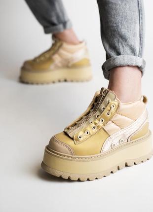 Шикарные женские кроссовки puma x fenty zipped sneaker boots 😃...