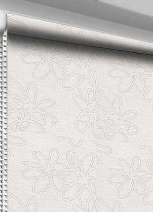 Рулонная штора DecoSharm В1007 Серая 50х170 см