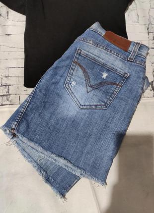 Джинсовая юбка глория джинс