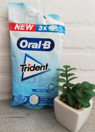 Жвачки Trident Oral-B. Новинка