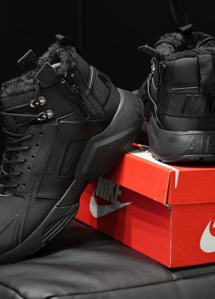 Шикарные мужские ботинки nike air huarache acronym чёрные 😃 (з...