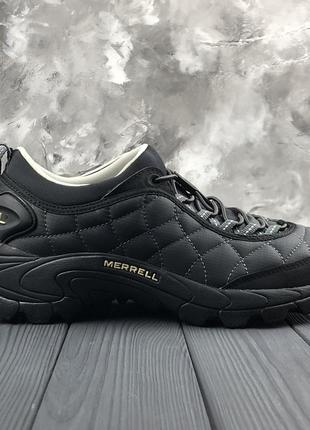 Шикарные мужские merrell ice cap moc 2 black grey😃 {зима}