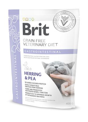 Brit GF Veterinary Diet Gastrointestinal сухой корм для кошек ...