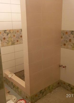 Укладка плитки в ванной комнате и не только !!!