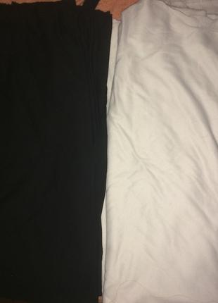 ткань - трикотаж черный и белый