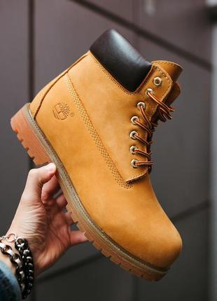 Шикарные мужские ботинки timberland boots зимние с мехом 😃 {зима}