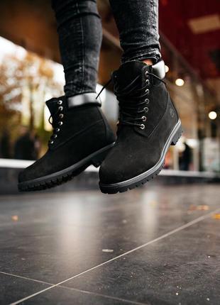 Шикарные женские ботинки timberland boots зимние с мехом 😃 {зима}