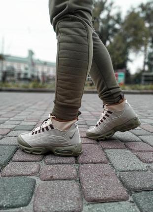 😊nike air max 95 sneakerboot winter🤗 мужские ботинки термо зимние